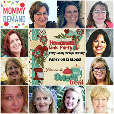Hosts of Happiness Is Homemade linkparty