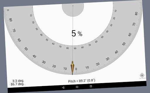 Smart Protractor Lite screenshot 7