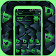 Neon Green Triangle Launcher Theme Download on Windows