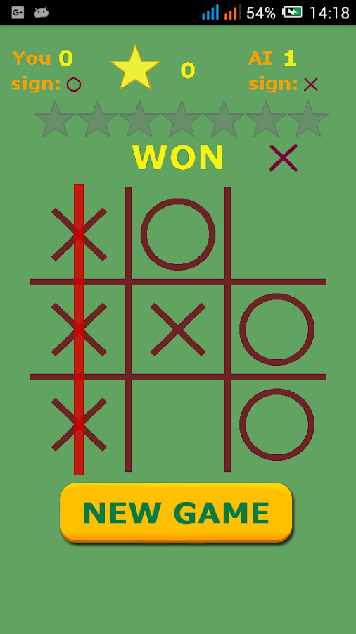 Tic-Tac-Toe- screenshot