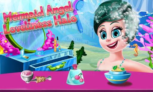 無料休闲Appのエンジェル美しい人魚の物語 記事Game
