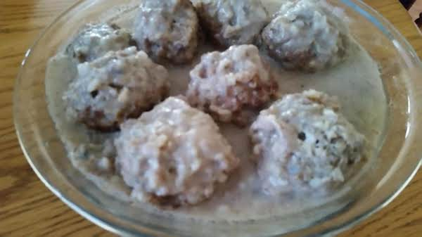 Mom's Porcupine Meatballs My Way Recipe