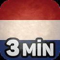 Niederländisch lernen in 3 Min icon