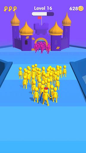 Stickman Fighting Run 3D: Epic battle  screenshots 2