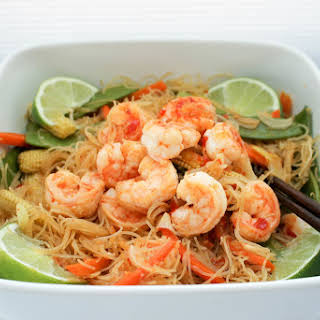 Shrimp Rice Noodles.