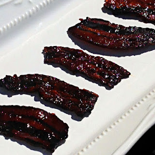 Candied Pepper Jam Bacon.