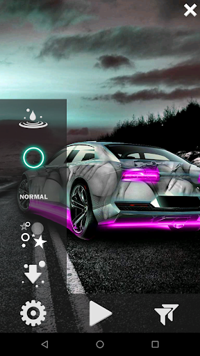 Neon Cars Live Wallpaper HD 2.8 screenshots 3