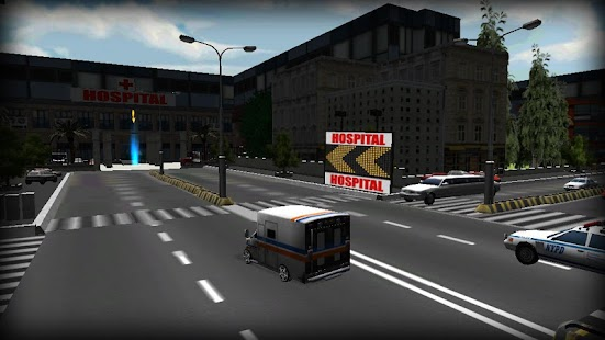 Extreme Ambulance Sim 3D screenshot