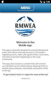 RMWEA Mobile APP- screenshot thumbnail