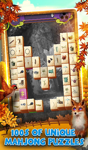 Mahjong Solitaire: Grand Autumn Harvest apkmartins screenshots 1