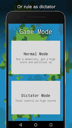 Code Triche RandomNation - Politics Game APK MOD screenshots 4