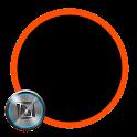 Dark Orange for TSF Shell icon