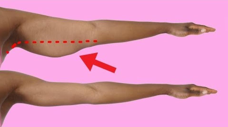 get rid of arm fat fast