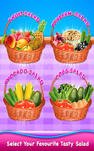 Healthy Salad Maker - Kitchen Food Cooking Game 1.0 screenshots 2