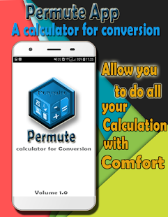 Permute App - Calculator cum Unit Converter - Math - náhled