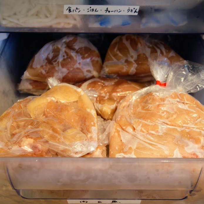 シャープ FJ-HS9X 鶏の胸肉を冷凍