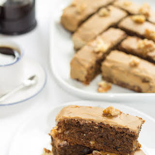 Low Fat Coffee And Walnut Cake Recipes.