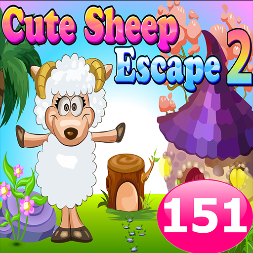 解謎App|Cute Sheep Escape 2 Game 151 LOGO-3C達人阿輝的APP