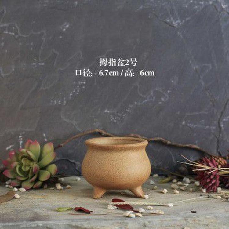Miniature Ceramic Pot - 02 by AquaticsForevers Enterprise