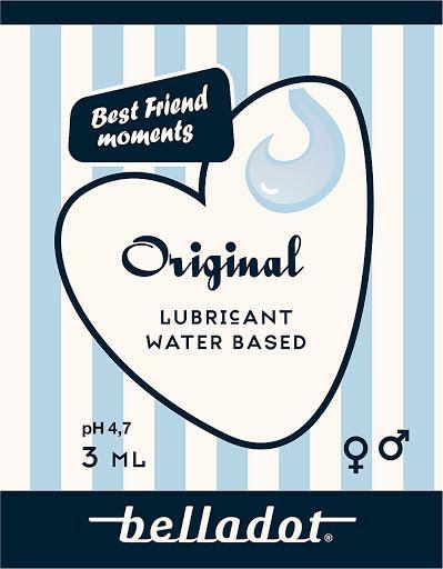 Waterbased lubricant orig 3ml- 50 pack Sachet 3ml