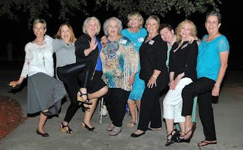 Photo: 2015 - 50th Reunion Linda Wilson Mitchell, Barbara  Novosad Stueve, Pam English Williams, Rosemary Worthy Dooley, Kathi Hesson Curtis, Rita Leeper Sholund, Mary Traud Austin, Suzy Wright Thomas, Carol Craven Barnes
