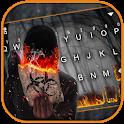 Bio Hazard Fire Keyboard Theme icon