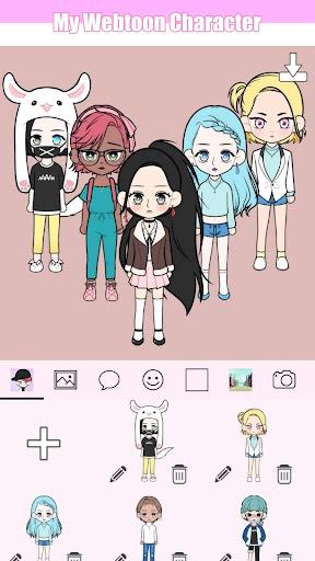 My Webtoon Character - K-pop IDOL avatar maker 2.0.1 screenshots 2