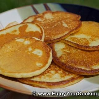 Russian Kefir Pancakes (Oladi) Recipe