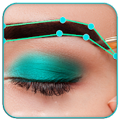 Eyebrow Shaping App - Beauty Makeup Photo
