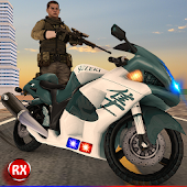 Police Motorcycle Secret Agent