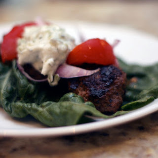 Gyros Meatballs and Tzatziki sauce