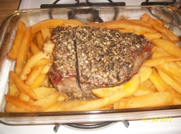 Herb-roasted Beef And Potatoes Recipe