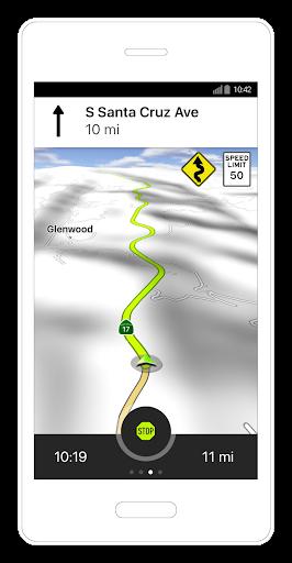 NAVIGON Cruiser - Motorcycle Navigation  screenshots 1