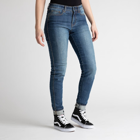 Broger California Jeans Dame (washed blue)