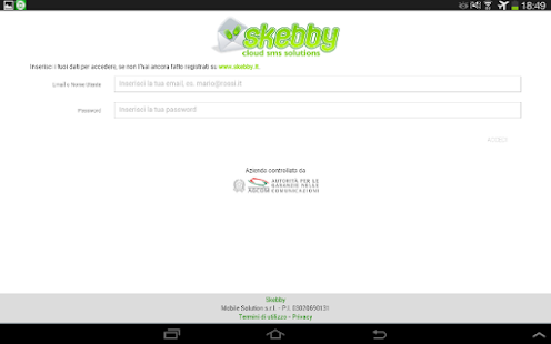 Skebby SMS Multipli (import)- miniatura screenshot