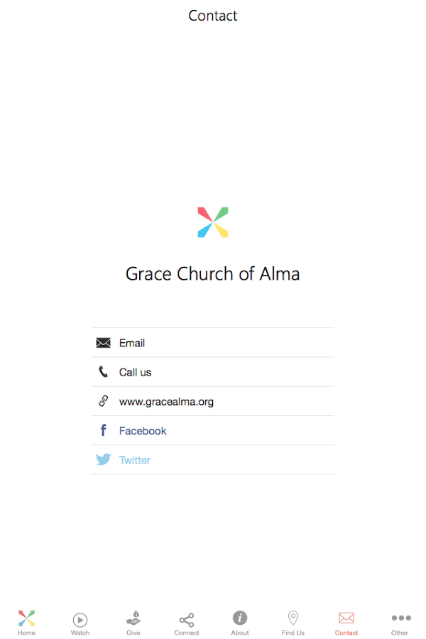 Grace Church of Alma- screenshot