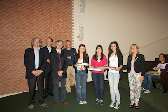 """Photo: Piccolo Agone Placidiano 2015: Vincitrici per il Liceo Ginnasio """"Quinto Orazio Flacco"""" di Bari: Laura Pascali, Alessandra De Letteriis, Maria Sassi (2° anno)"""
