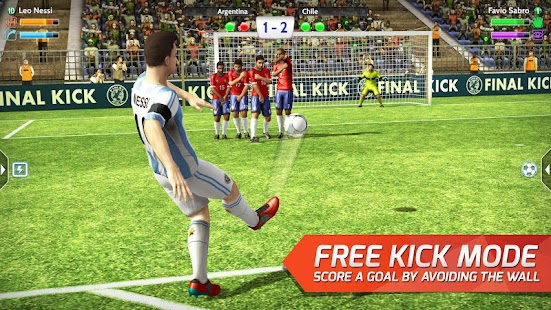 Final kick: Online football 5.0 (Mod Money/Vip/Ads-Free) Apk + Data