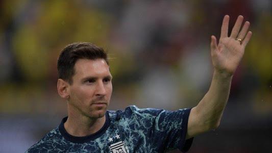 Jelang Duel Final Copa America Brasil Vs Argentina, Begini Kondisi Engkel Messi yang Terluka Parah - Tribun Bali