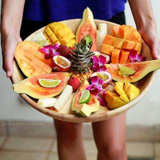 Tropical Fruit Desserts Recipes