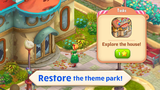 Télécharger Matchland - Build your Theme Park APK MOD (Astuce) screenshots 1