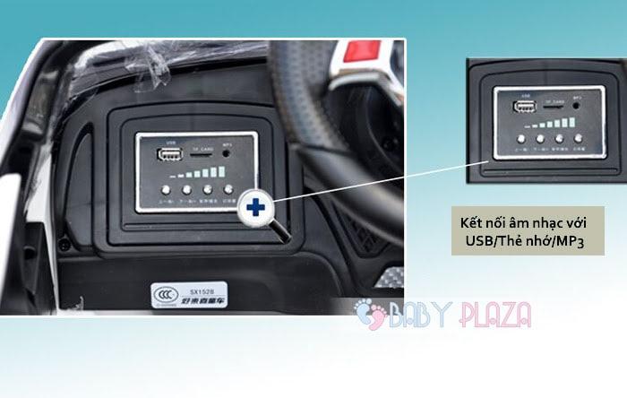 Ô tô điện trẻ em SX-1528 4 cửa mở 19
