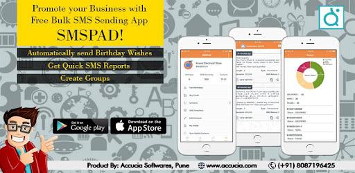 SMSPAD - #1 Bulk SMS App for Indian Businesses on Windows PC