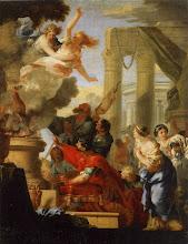 Photo: - Le Sacrifice d'Iphigénie (Orléans, musée des Beaux Arts) - Sébastien Bourdon