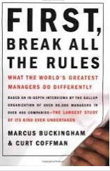 First Break All The Rules book