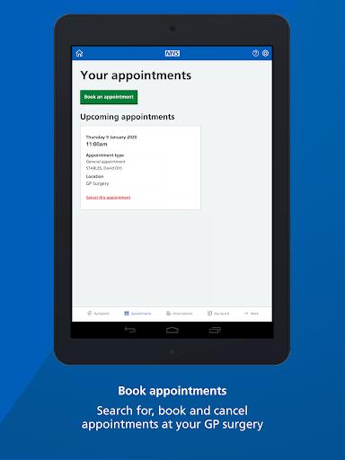 NHS App screenshot 9