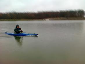 Photo: kończę, za mną 23 km. w deszczu , brrrr.