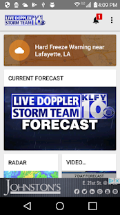 KLFY Weather - Weather and Radar - náhled
