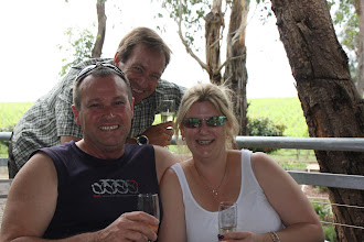 Photo: Year 2 Day 140 - Rog with Rachel and Shane at Helens Hill Vineyard