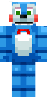 The skin is mainly a Toy Bonnie model. But, in order to remove the legs and make it small, you need More Player Models.